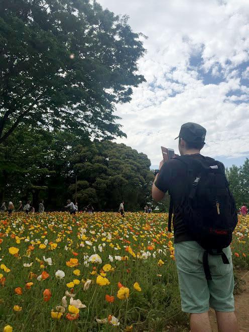 自分_昭和記念公園